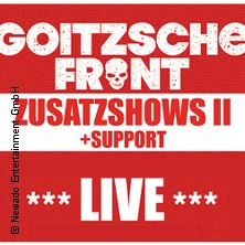 Goitzsche Front - Tour 2019