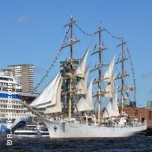 Karten für Begleitfahrt der großen Einlaufparade - Hafengeburtstag | Rainer Abicht Elbreederei in Hamburg