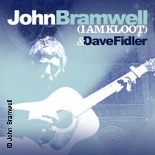John Bramwell (I Am Kloot) + Special Guest: Dave Fidler