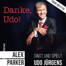 Danke, Udo! - Alex Parker singt und spielt Udo Jürgens