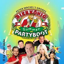 Peter Wackel's Bierkönig Partyboot 2018 u.a. mit: Mia Julia, Tobee, Axel Fischer in KÖLN-ALTSTADT, 18.08.2018 -