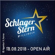Schlager Stern Willingen 2018 Tickets