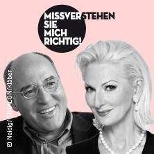 Missverstehen Sie Mich Richtig! Mit Gregor Gysi & Désirée Nick Tickets