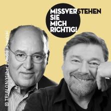 Gregor Gysi u. Jürgen von der Lippe: Missverstehen Sie mich richtig!