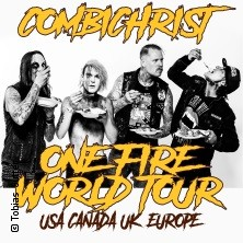 Combichrist - One Fire World Tour 2019 in NÜRNBERG * HIRSCH