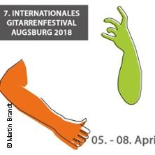 7. Int. Gitarrenfestival Augsburg 2018 Tickets