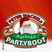 Peter Wackel's Advent Partyboot u.a. mit: Mia Julia, Oli P., Björn Heuser, Tobee in Köln-Altstadt, 09.12.2017 - Tickets -