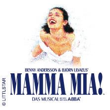 mamma mia das musical on tour mit den hits von abba. Black Bedroom Furniture Sets. Home Design Ideas