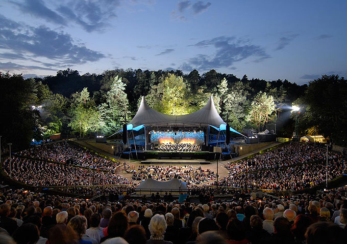 Berliner Philharmoniker - Berliner Philharmoniker in der Waldbühne Berlin