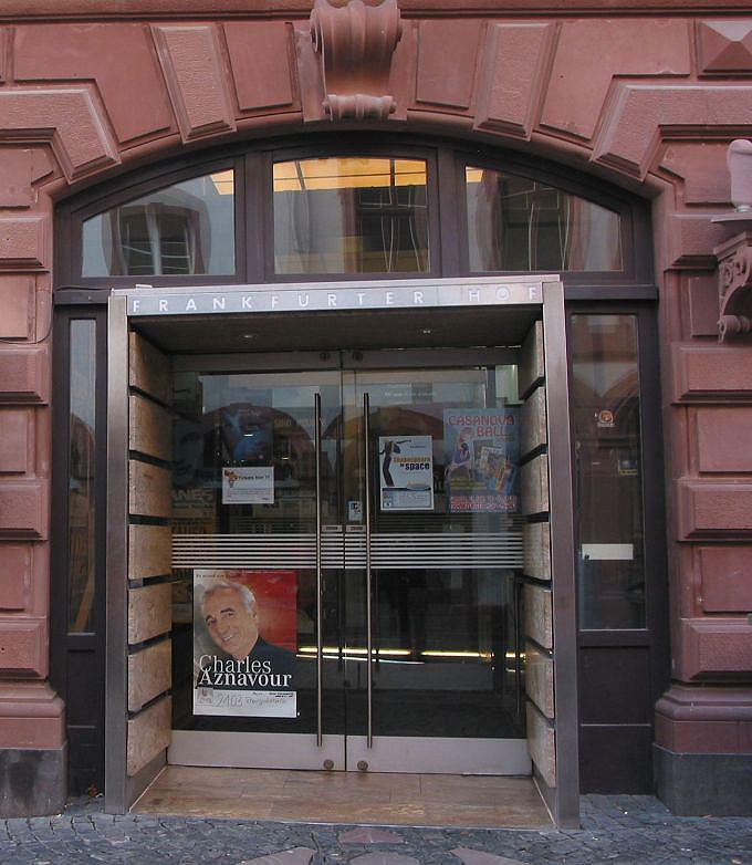 Mainz Frankfurter Hof : frankfurter hof mainz tickets bei eventim ~ A.2002-acura-tl-radio.info Haus und Dekorationen
