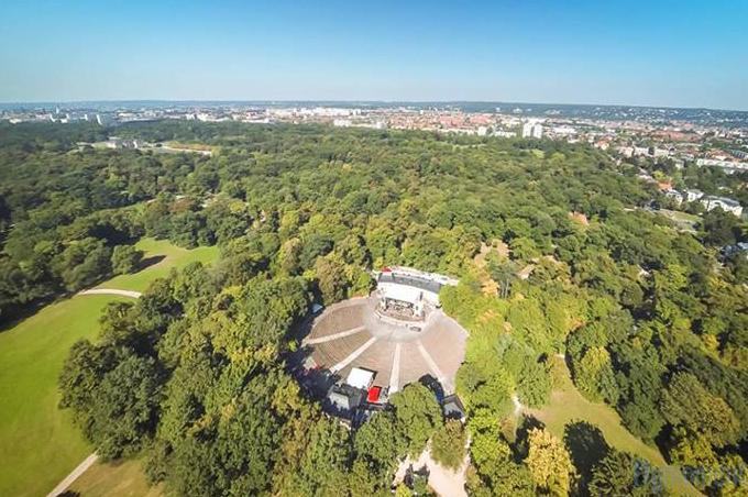 Großer garten  Freilichtbühne Großer Garten JUNGE GARDE Dresden - Tickets bei Eventim