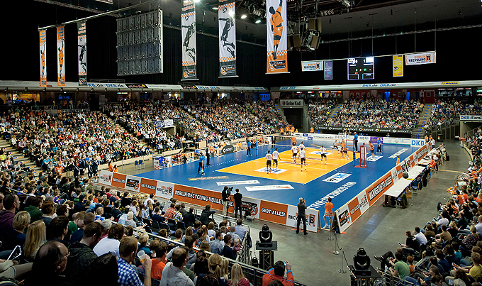 Max Schmeling Halle Handball