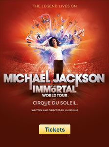 Michael Jackson The Immortal World Tour - Cirque du Soleil