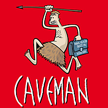 Caveman in Kamenz