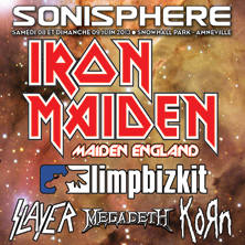 Festival Sonisphere 2013 / 2 Days Ticket AMNEVILLE - FRANCE - Tickets