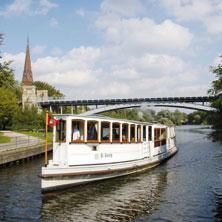 Historische Alster Kanalfahrt