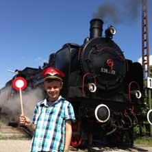 Nachmittagsfahrt: Augsburg - Utting / Ammersee - Dampfbahn Tickets