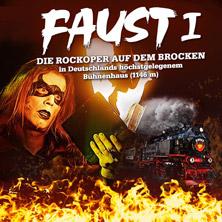 Faust I - Die Rockoper auf dem Brocken in WERNIGERODE * Dampfzug Mephistoexpress,