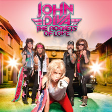 John Diva & The Rockets Of Love, Supports: Jahm! & Cryptic Lane