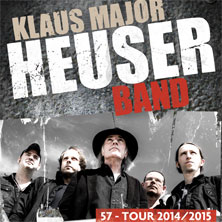 Klaus Major Heuser Band - What's Up? Tour 2017