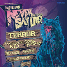 Impericon Never Say Die! Tour 2014