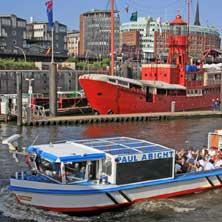 Karten für 2 Stunden Sonderfahrt - Rainer Abicht Elbreederei in Hamburg