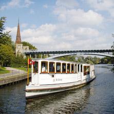 Historische Alster-Kanalfahrt - Dampfschiff ''ST.GEORG''