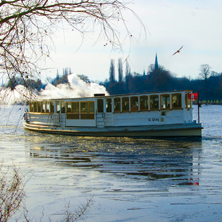 Karten für Historische Alsterrundfahrt mit Rondeelteich - Dampfschiff  ''St. Georg'' in Hamburg