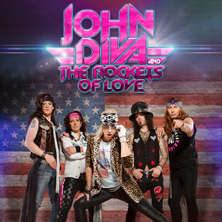 John Diva & The Rockets Of Love in SIEGBURG * KUBANA Live Club,