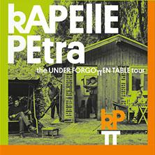 Kapelle Petra: The Underforgotten Table Tour 2016