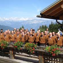 Musikschau der Berge