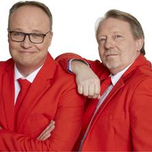 Oliver Welke & Dietmar Wischmeyer:Im Herzen jung