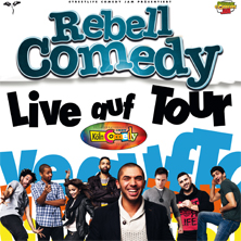 RebellComedy - live auf Tour