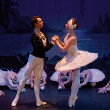 Schwanensee: Klassisches Russisches Ballett aus Moskau
