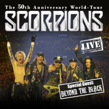 SCORPIONS, Barclaycard Arena