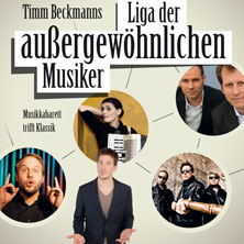 Karten für Timm Beckmann's Liga der Außergewöhnlichen Musiker in Essen