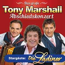 Das große Tony Marshall Abschiedskonzert mit Pascal Marshall, Carina