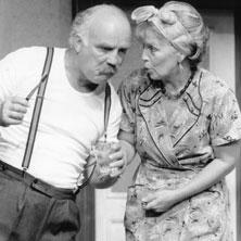 Theaterstück 'Tratsch im Treppenhaus'
