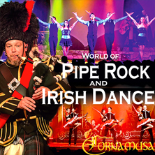 World of Pipe Rock and Irish Dance, Stadthalle Parchim