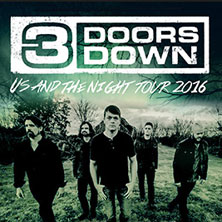 3 Doors Down: Us And The Night Tour 2016
