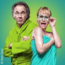 Karten für Aufguss oder Dampf endlich ab! Wellnesskomödie mit TV-Star Hugo Egon Balder u.a. in Dresden