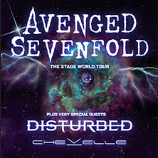 Avenged Sevenfold - Special Guests: Disturbed & Chevelle