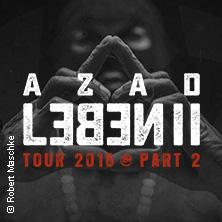 Azad: Leben II Tour 2016