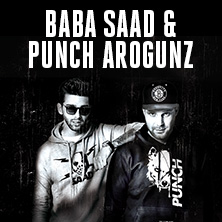 Baba Saad + Punch Arogunz: Primitiv Effektiv Tour 2016