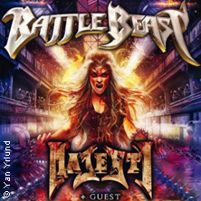 Battle Beast und Majesty: Bringer Of Pain Over Europe Tour 2017