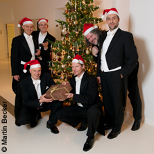 Dinnerkonzert Comedian Harmonists Today - Inkl. Sektempfang & 3-Gänge-Menü