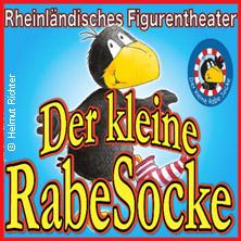 Der kleine Rabe Socke - Rheinländisches Figurentheater in DRESDEN * Cockerwiese,