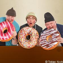 Die Bierhähne: Die Herren der Ringe! in WERDAU * Stadthalle Pleißental,