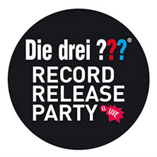 Die Drei ??? - Record Release Party in HEIDELBERG * halle02,