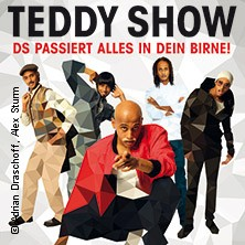 Die Teddy Show: Ds passiert alles in dein Birne! in Heilbronn * INTERSPORT redblue,